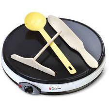 Home Griddle Crepe Maker 12in Ceramic Grill Kitchen Appliance Pan Cake Omelet