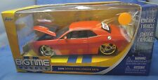 JADA BIGTIME 2008 08 DODGE CHALLENGER SRT8 1/24 ORANGE with STAR WHEELS