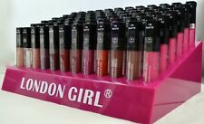 72pc Beautiful Colours In New London Girl Matte Finish Lip Gloss Whole Sale Pric