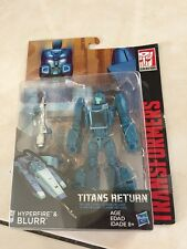 Transformers Titans Return Hyperfire & Blurr NEW