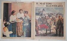 1938 Guerra di Spagna Catalogna Libia Rubini mostra Nazionale del Dopolavoro Dux
