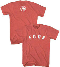 Foo Fighters-Foos Logo- X-Large Heather Red Lightweight  T-shirt