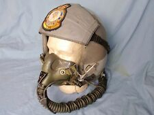 USAF HGU-55/P FLIGHT HELMET & MBU-12/P OXYGEN MASK - large Fully Wired