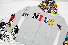 New A Bathing Ape Baby Milo x CHOCOOLATE Zip Up Hoodie Sweater 100%AUTH L RARE