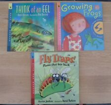 Read & Wonder Series Think of an Eel Growing Frogs & Fly Traps 3 Paperback Books