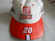 New The Home Depot Racing #20 Genuine Leather Hat Cap by Modern Made in USA