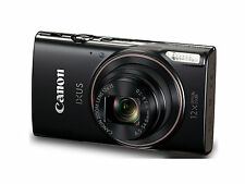 Canon IXUS 285 HS (Black) with Wifi & NFC & 8GB Memory Card & Camera Case (SMP6)