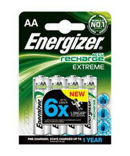 Energizer Extreme AA Rechargeable Batteries  6xlonger thank standard ones