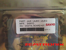 SANYO EEPROM Repair Kit for J4JE DP50741 P50741-00 IC7600 (upgraded, 6 parts)