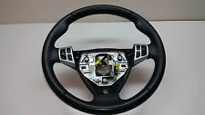 SAAB 9-3 2007 VER 2 Steering Wheel Black Leather With Buttons 12757703 SPORT