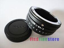 Tilt Olympus OM Lens to Micro 4/3 M4/3 adapter E-P1 E-PL2 E-PM1 DMC G10 GF2 GF7