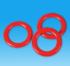 100 PLASTIC RINGS Carnival Soda Bottle Toss Cane Rack Game #BB5 Free shipping