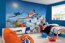 Disney Wall mural wallpaper for boy's bedroom poster style Planes above clouds