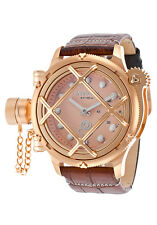 NEW Invicta Men's 16350 Russian Diver Swiss Made Mechanical Nautilus Rose Tone