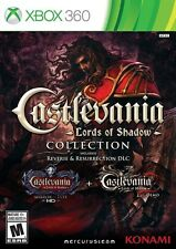 Castlevania: Lords Of Shadow Collection (Xbox 360 Video Game) BRAND NEW SEALED
