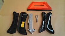 02-05 Audi A4 Tool Kit Set Jack Spare Tire Wheel Emergency Triangle OEM Case