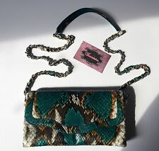 "New Luxury Genuine Python Leather Clutch ""Melissita"""
