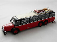 Miniature Bus Autocar MERCEDES BENZ O 10000 d 1938 IXO Coach Car Autobus