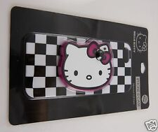 for iphone 5 phone case Hello Kitty black white checker mirror  fits i phone 5