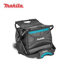 Makita Electricians Carpenter Constrution Work Tool Bag Box Organizer with Chair