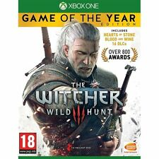 NEW The Witcher 3 Wild Hunt Game of The Year Edition Xbox One