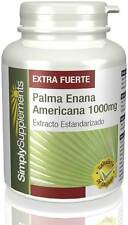 Saw Palmetto 1000mg (Palma Enana) | 120 comprimidos (E420) Simply Supplements