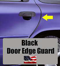 4pcs BLACK Door Edge Guard Trim Molding Protector CHEVY4BG