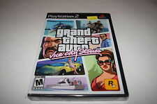 Grand Theft Auto Vice City Stories Sony Playstation 2 PS2 Video Game New Sealed