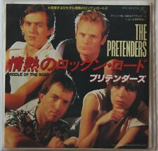 Pretenders Middle Of The Road Japan Diff PS +BSide 7in