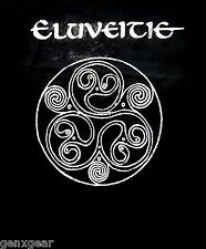 ELUVEITIE cd cvr HELVETIOS Official Black SHIRT Size XXL 2X New