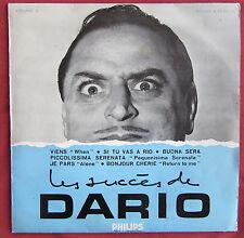 """DARIO MORENO   25 CM 10"""" LP ORIG FR  LES SUCCES DE MARIO"""