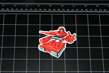 Transformers G1 Warpath box art vinyl decal sticker Autobot toy 1980's 80s