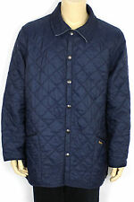 VINTAGE BARBOUR LIDDESDALE MENS QUILTED DARK NAVY BLUE MENS RARE ENGLAND SIZE XL