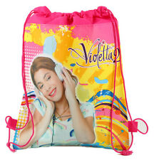 Violetta  Girls Children Cartoon Bag Drawstring Backpack Kids School Bags:DHY
