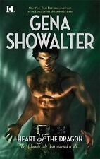 Heart of the Dragon by Gena Showalter (2009, Paperback) book 1 Atlantis Series