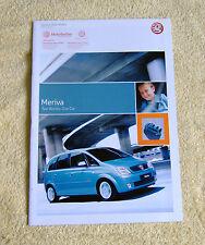 Vauxhall Meriva 2004 Modelos No2 Diseño, disfrutar de la vida, Inc, expresión