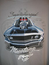 Clearwater Outfitters Supercharged Mustang T shirt NWT M **Great Graphic**