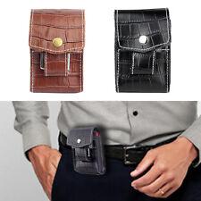 Mode Leder Zigarettenetui Box Tabak-Halter-Behälter mit Feuerzeug Spiel Taschen