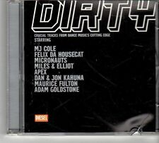 (FD644) Dirty by Diesel, 8 tracks various artists - 2000 Jockey Slut CD