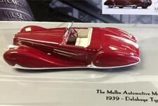 1939 DELAHAYE TYPE 165 CABRIOLET in 1:43 Scale by Minichamps  437116130