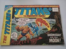 The Titans Issue 41 UK Comic Nick Fury Fantastic Four