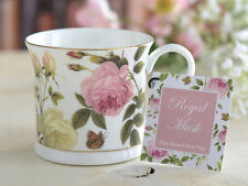 ROYAL MUSK Fine Bone China PALACE MUG w Gold Rim BY CREATIVE TOPS