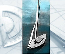 """Model Sailboat PLANS 25"""" Radio Control Full Size Printed Plans & building Notes"""