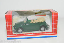 EDOCAR SUPER SERIES VW VOLKSWAGEN BEETLE KAFER CABRIOLET GREEN MINT BOXED