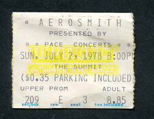 1978 AC/DC Journey Aerosmith concert ticket stub Houston TX Powerage Tour
