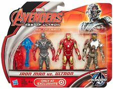 "AVENGERS: AGE OF ULTRON ( 4"" ) ( TARGET ONLY ) MARVEL MOVIE ACTION FIGURE 3-PACK"