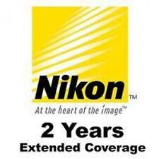 NIKON 2 YEAR WARRANTY FOR CoolPix P600 S810 S810C S9200 S9300 P310 L620
