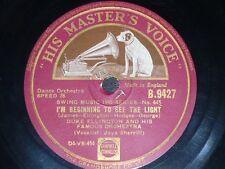 JAZZ 78 rpm RECORD HmV DUKE ELLINGTON I ain´t got nothin´ but the blues / I´m...