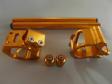 Lenkerschellen  Set Honda CBR 1000RR 04 05 06 07 08 09 10 11 12 gold 50 mm