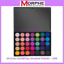 NEW Morphe Brushes 35-Color GLAM Eye Shadow Palette 35B FREE SHIPPING BNIB